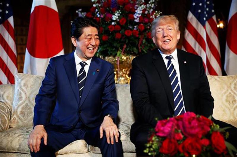 安倍総理とトランプ大統領