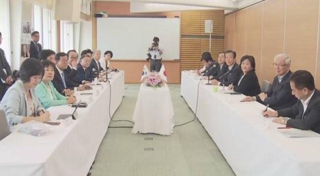 韓国訪問団