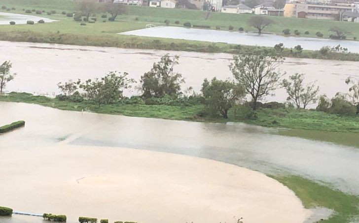 多摩川氾濫