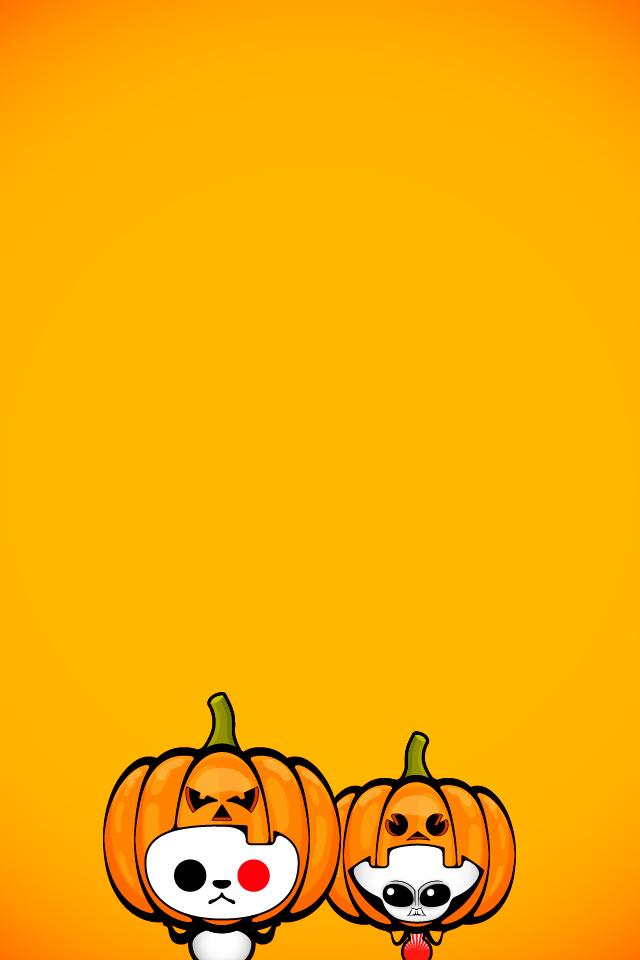 ハロウィンスマホ壁紙