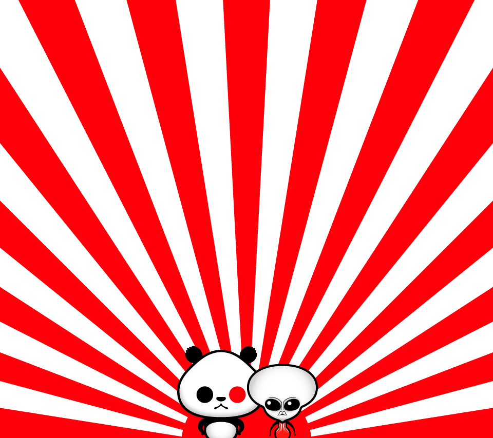 ゆるパンダとグレーの無料スマホ壁紙 ゆるパンダオフィシャル