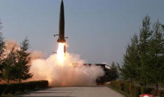 北朝鮮がミサイル発射