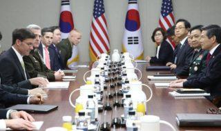 在韓米軍駐留費