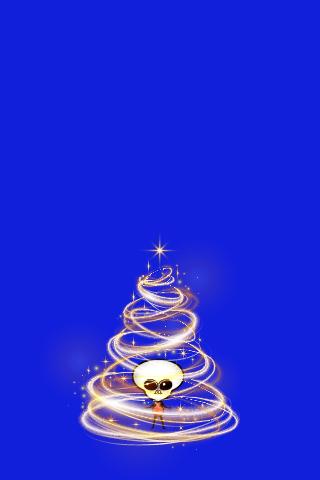 クリスマススマホ無料壁紙