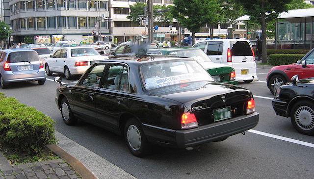東京都内のタクシー運転手