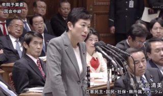 立憲民主党・辻元清美