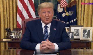 トランプ米大統領「国家非常事態宣言」