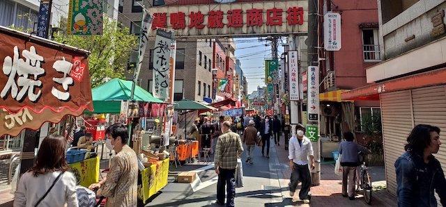 東京の巣鴨