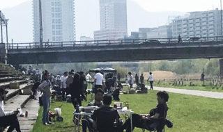 北海道・豊平川の現状
