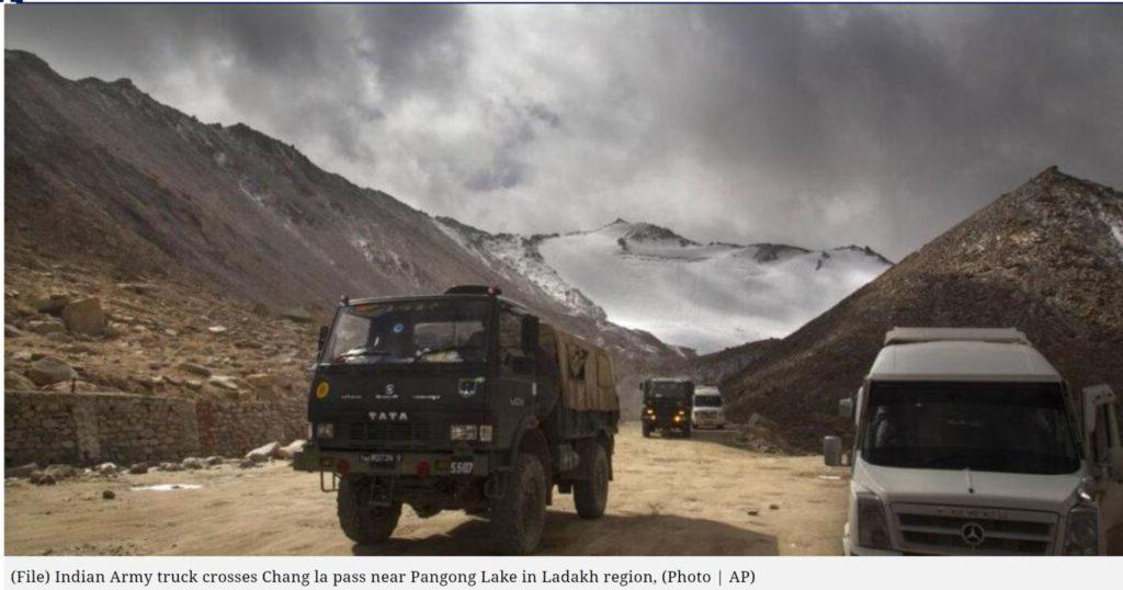 インド軍と中国軍の衝突