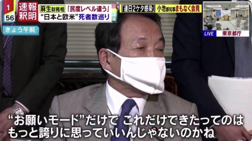 麻生太郎大臣