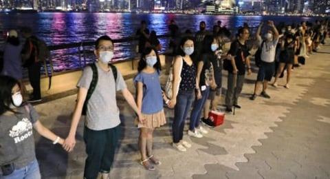香港には三権分立がある
