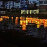 中国の灯篭流し