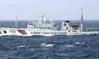 中国海警局、武器使用
