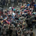 米国目指すホンジュラス不法移民、9000人に!!