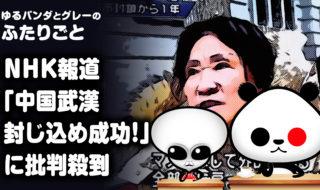 NHK報道『中国武漢 封じ込め成功』