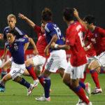 サッカー日韓親善試合