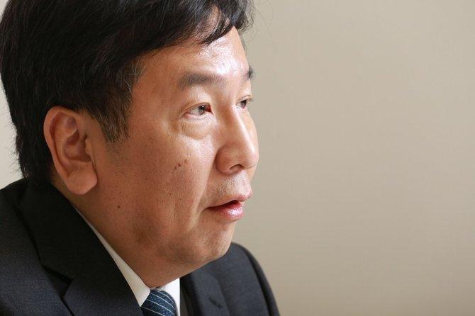 立憲民主党 枝野幸男代表