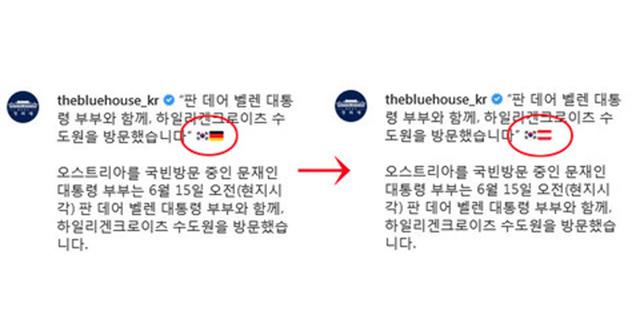 韓国とオーストリア