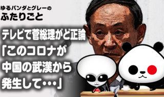 地上波テレビで菅総理がド正論