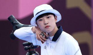 韓国アーチェリー選手