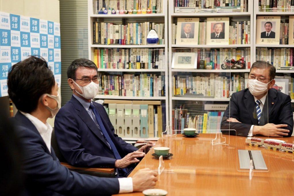 総裁選で河野太郎